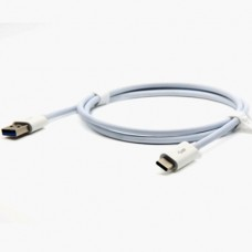 Кабель USB Type Cm - USB*2.0 Am - 1 метр, белый