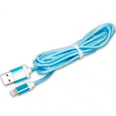 Кабель USB Am - Lightning, Ritmix RCC-321 blue, синий - 1,5 метра