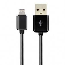 Кабель USB Am - Lightning, 5Bites UC5005-010BK чёрный - 1 метр