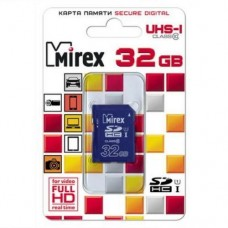 Карта памяти 32 Гб, SDHC Secure Digital flash card, класс 10, UHS-I - Mirex